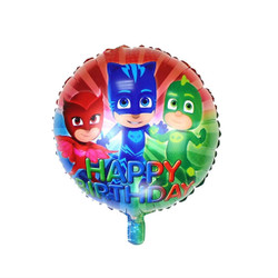 PJ MASKS Happy Birthday Party Mylar Foil Balloon Decoration - 18in ...
