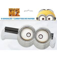 Despicable Me 2 Minions 8 Pack Goggles