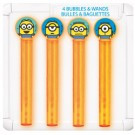 Despicable Me 2 Bubbles and Wands 4 Pack
