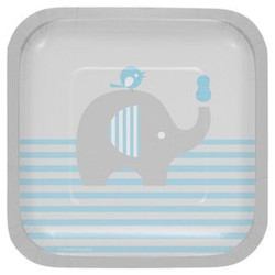 Little Peanut Boy Elephant Dessert Plates