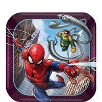 Spider-Man Webbed Wonder Dessert Plates 8ct