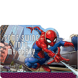 Spider-Man Webbed Wonder Invitations 8ct
