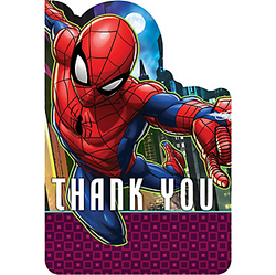 Spider-Man Webbed Wonder Thank You Notes 8ct