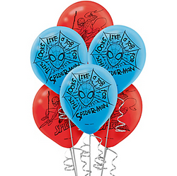 Spider-Man Webbed Wonder Balloons 6ct