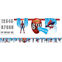 Spider-Man Webbed Wonder Birthday Banner Kit