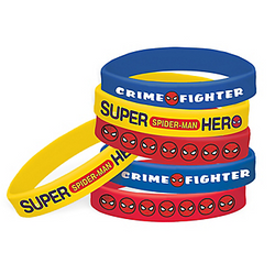 Spider-Man Webbed Wonder Wristbands 6ct