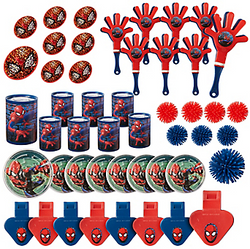 Spider-Man Webbed Wonder Favor Pack 48pc