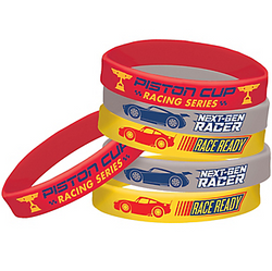 Cars 3 Wristbands 6ct