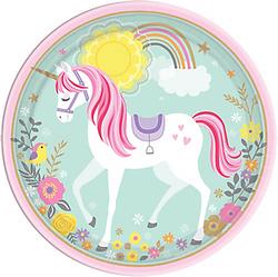 Magical Unicorn Dinner Plates 8ct