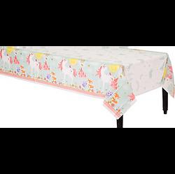 Magical Unicorn Plastic Table Cover