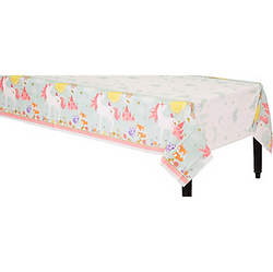 Magical Unicorn Plastic Table Cover