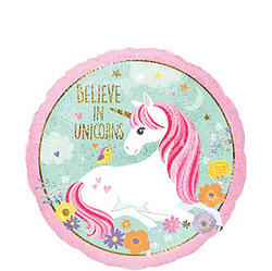 "Magical Unicorn 18"" Foil Balloon"