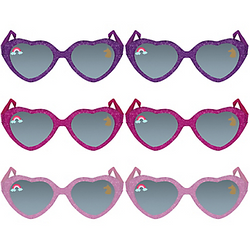 Glitter Magical Unicorn Sunglasses 6ct