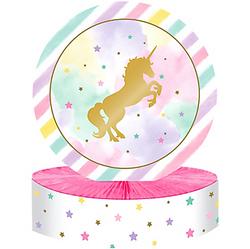 Sparkling Unicorn Honeycomb Centerpiece