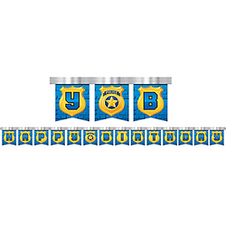 Police Birthday Banner