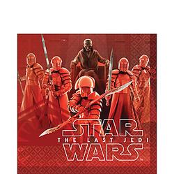 Star Wars 8 The Last Jedi Lunch Napkins 16ct