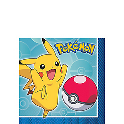 Pokemon Core Beverage Napkins 16ct