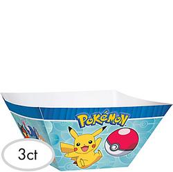 Pokemon Core Paper Serving Bowls 3ct