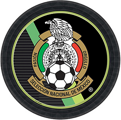 Mexico National Team Dinner Plates 8ct
