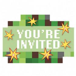 TNT Party! Postcard Invitations