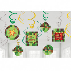 TNT Party! Value Pack Foil Swirl Decorations
