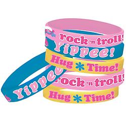Trolls Wristbands 6ct