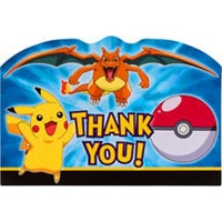 Pikachu & Friends PostCard Thank You Notes 8 Ct.
