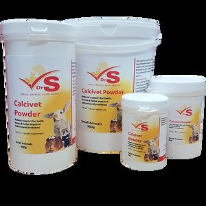 Calcium supplement for small animals.