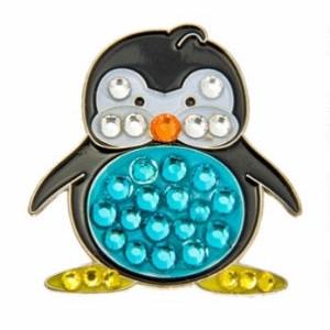 Bonjoc Penguin Donovan Swarovski Crystal Ball Marker