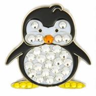 Bonjoc Penguin Swarovski Crystal Ball Marker