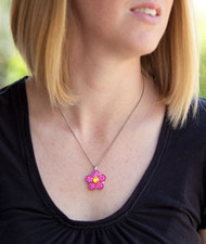 Pendant necklace for crystal ball markers (ball marker not included)