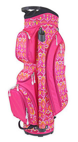 All For Color Sunrise Ikat Ladies Golf Bag