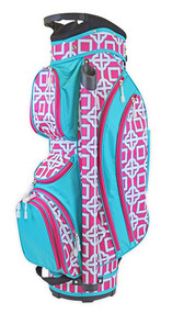 All For Color Pink Charmer Ladies Golf Bag