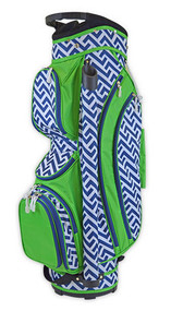 All For Color Nautical Tide Ladies Golf Bag