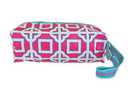 All For Color Pink Charmer Ladies Shoe Bag