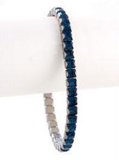 Bonjoc Montana Swarovski Crystal Stretch Golf Bracelet