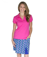 GolfHer Backspin Golf Skort with SPF 35
