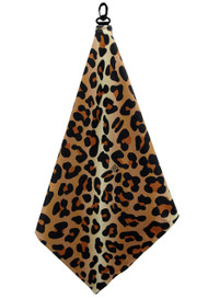 Beejo Leopard Golf Towel