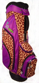 Birdie Babe Driving Me Wild Leopard Ladies Hybrid Golf Bag