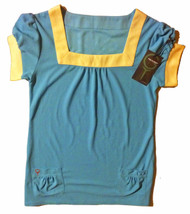 Green Tee Apparel Blue Tunic - Size: Medium