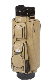 Cutler Sports Grace Quilted Beige Ladies Golf Bag