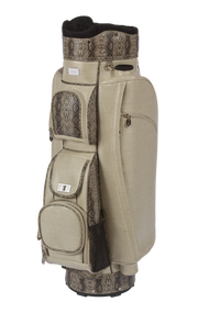 Cutler Sports Sophia Linen Python Ladies Golf Bag