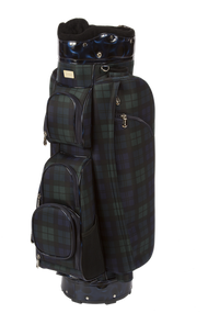 Cutler Sports Kate Blackwatch Blue Plaid Ladies Golf Bag