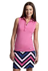 Golftini Pink Cosmo Tech Golf Skort