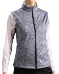 Glen Echo Blue Lightweight Ladies Stretch Tech Meringue Vest