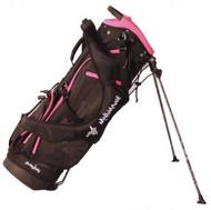 Molhimawk Coral Pink Stand Golf Bag