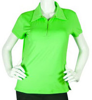 2GG Green Short Sleeve Golf Polo