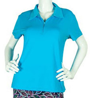 2GG Blue Short Sleeve Golf Polo