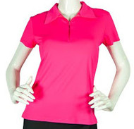 2GG Pink Short Sleeve Golf Polo