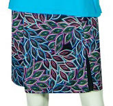 2GG Birdies of Paradise Golf Skort